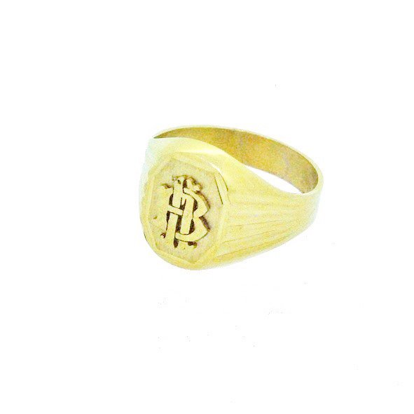 bague or jaune 750/1000 5.20gr