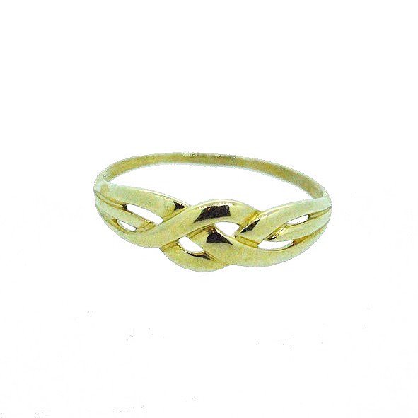 bague or jaune 750/1000 1.30gr