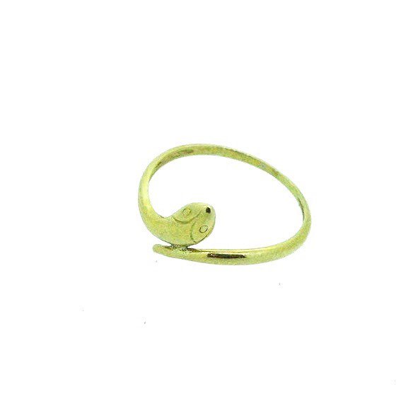 bague or jaune 750/1000 0.90gr