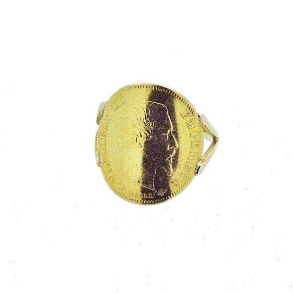 bague or jaune 750/1000 2.30gr