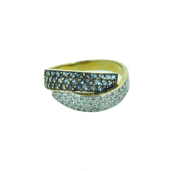 bague diamant or jaune 750/1000 4.20gr