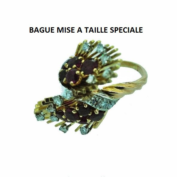 BAGUE MISE A TAILLE SPECIALE