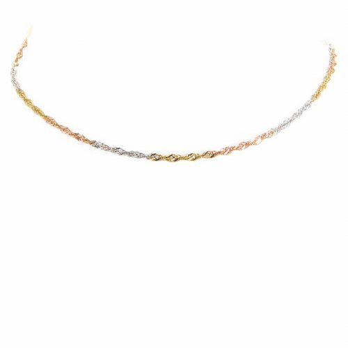 collier 3 ors 750/1000 3,40 gr