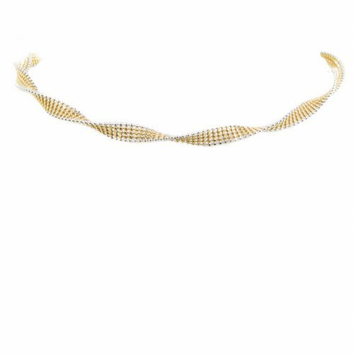 collier or jaune or blanc 750/1000 10,00 gr