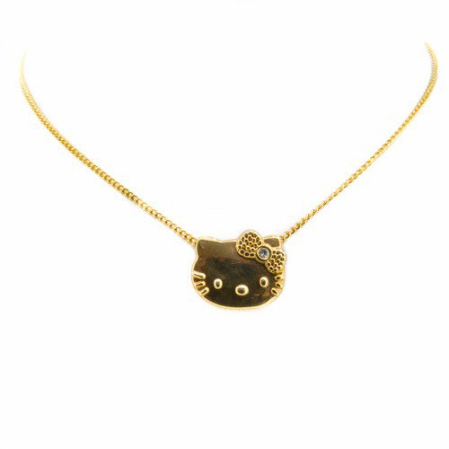 collier hello kitty